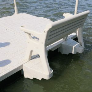 Dock Bench Attachment System