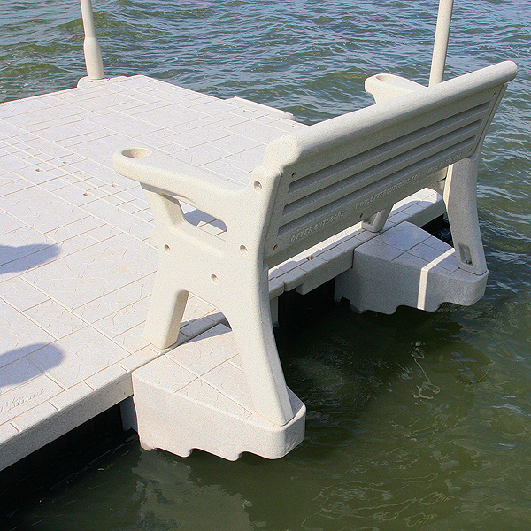 Dock Bench Attachment System Wave Armor