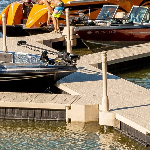 Floating Dock Wedge