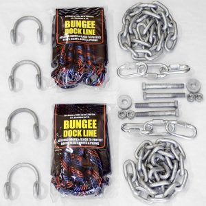 Double Anchor Clevis Kit with Bungees