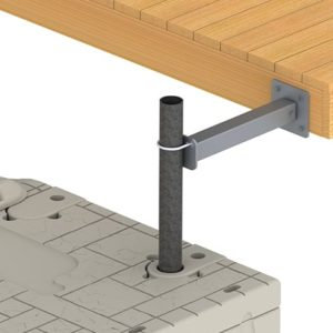 SLX10 Pipe Mount-to-Fixed Dock