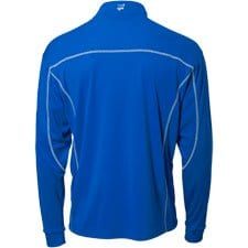 Quarter Zip Blue Back