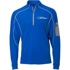 Wave Armor Quarter Zip Blue